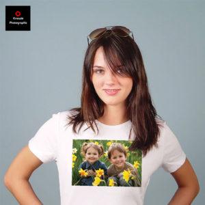 Personalised logo T-shirt