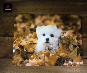 personalised photo placemat